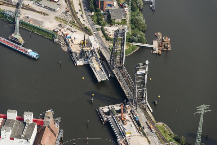 Neubau Rethebrücke