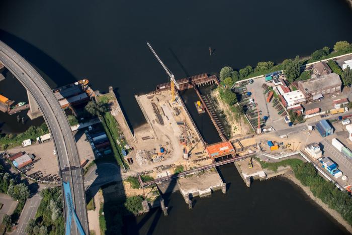 Neubau Rugenberger Schleuse
